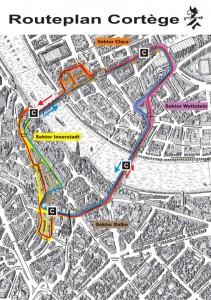 Cortège Route 2012