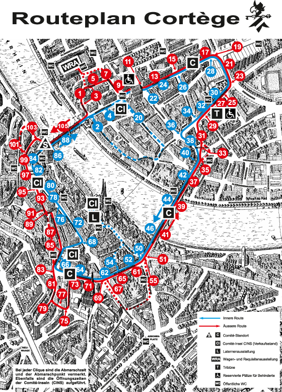 Cortège Route 2014